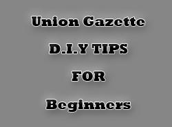 union gazette D.I.Y